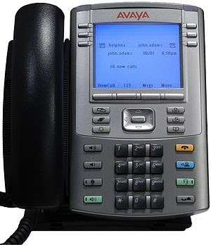 English: The IP Phone 1140E