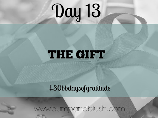 30 Days of Gratitude Day 13