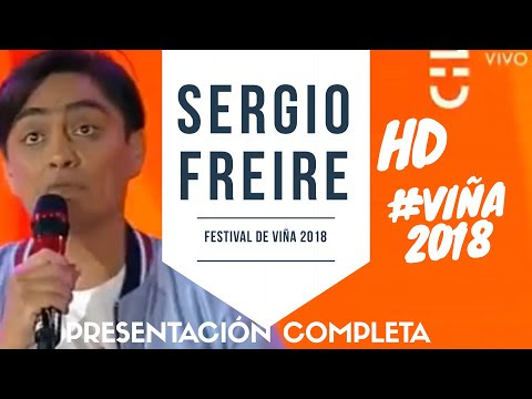 Revive la espectacular rutina de Sergio Freire en Viña del Mar