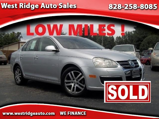 Used 2005 Volkswagen Jetta 2.5L for Sale in Asheville NC 28806 West Ridge Auto Sales