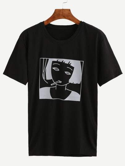 Black Girl Print T-shirt