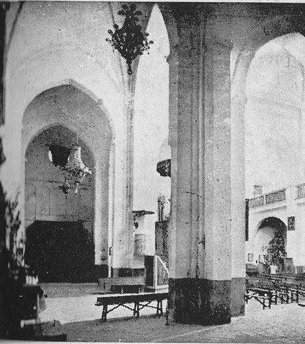 Iglesia de Santiago del Arrabal a principios del siglo XX