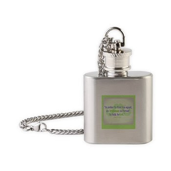 God's Irishman Funny Flask Necklace