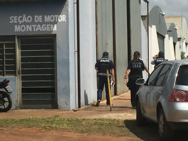 Aeroporto Santa Maria, em Campo Grande (Foto: Gabriela Pavão/ G1 MS)