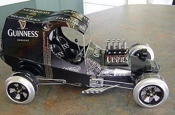 Guinness car