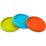 Boon Plate Edgeless Nonskid Plate , Blue/Orange/Green