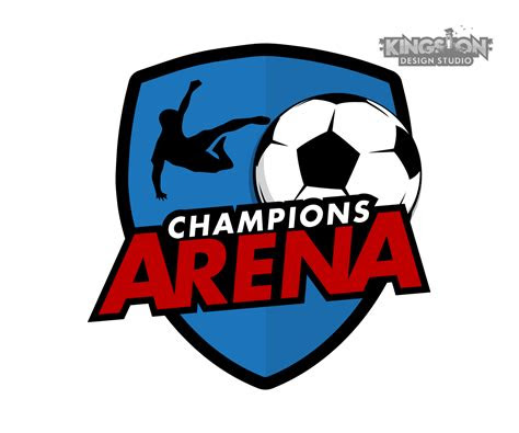 business logo design  champions arena  andre swaby