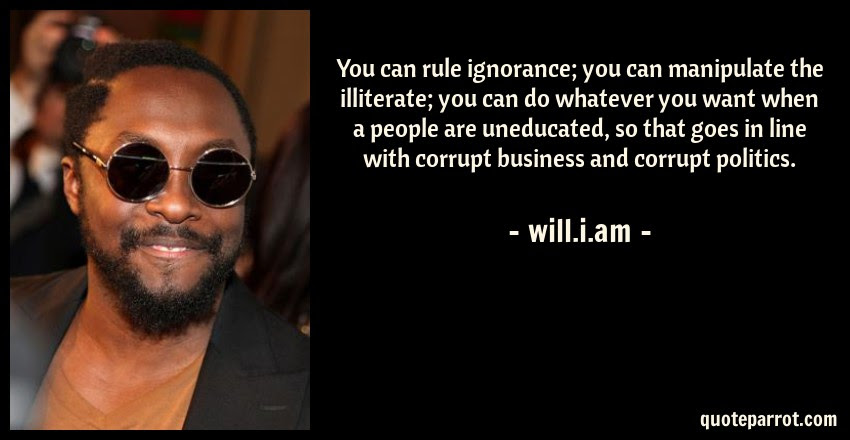 You Can Rule Ignorance You Can Manipulate The Illitera By Willi
