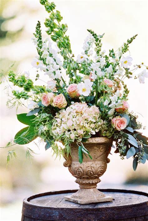Romantic Blush Sundance Resort Wedding   Floral arrangement