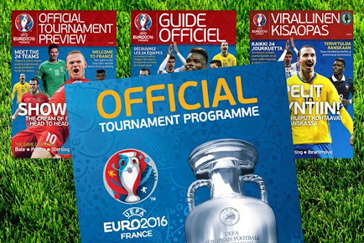 Network produces official programmes for Euro 2016