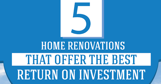 5 BEST Home Renovations of 2016 {INFOGRAPHIC}