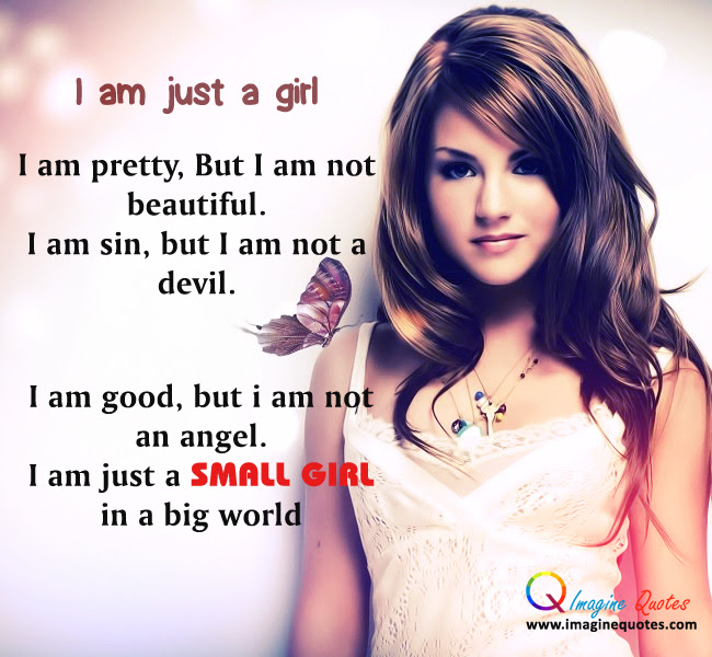 Quotes About Just A Girl 289 Quotes
