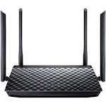 ASUS RT-AC1200G Wireless Router - 1167 Mbps - 2.4 GHz / 5 GHz - Gigabit Ethernet - 802.11b/a/g/n/ac