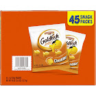Pepperidge Farm Goldfish Cheddar Baked Snack Crackers - 45 pouches, 1 oz each