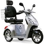 EWheels EW-36 Mobility Scooter, Silver