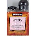 Kirkland Himalayan Pink Salt Grinder with Refill - 26 oz