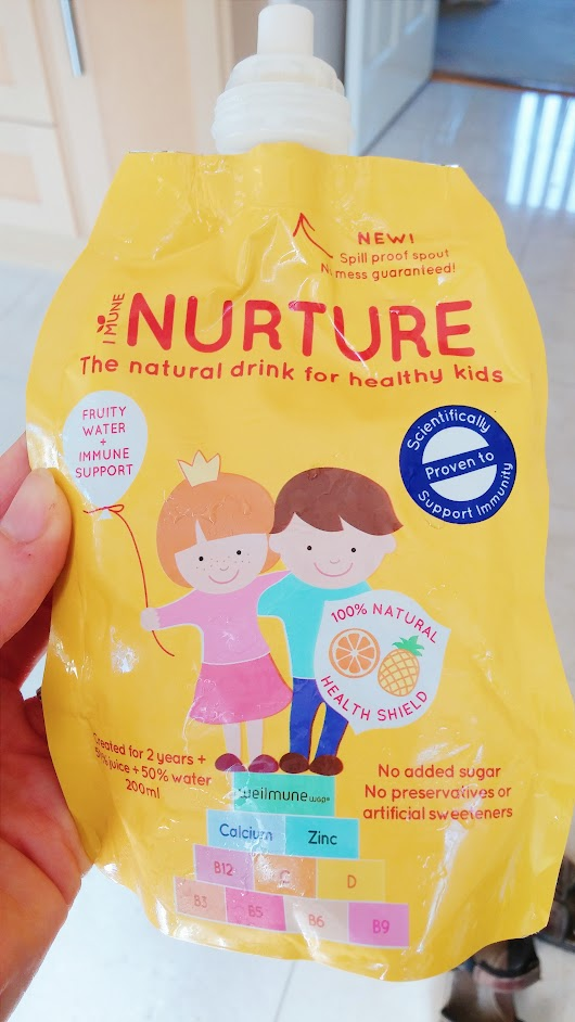 Increasing Immunity with Nurture Kids Drinks - Happy Healthy Mumma