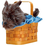 Doggie Basket Handbag - 8574 - Brown - One Size
