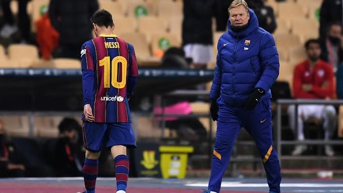 Роналд Куман заступился за удаленного Лионеля Месси и прокомментировал поражение «Барселоны»