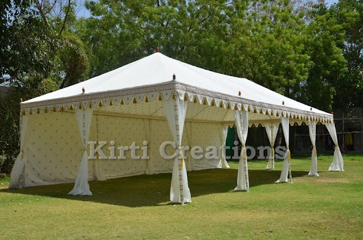 Stylish Luxury Tents – Raj Tent