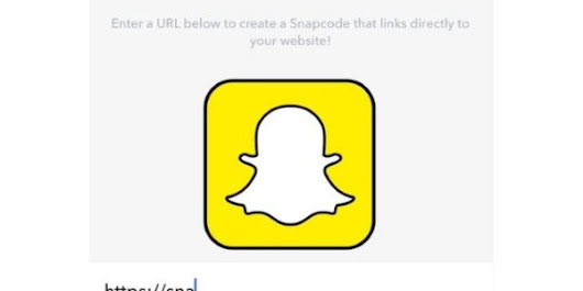 Now You Can Create a Snapcode for Your Website