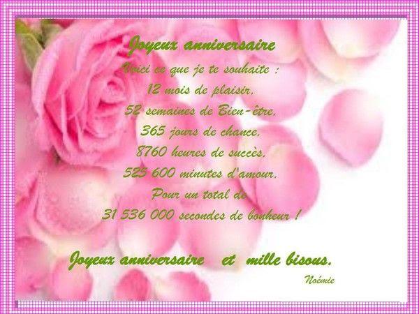 Remerciement De Voeux D Anniversaire Sur Facebook
