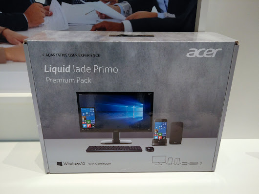 The Acer Jade Primo Premium Pack is a PC in a box for €800