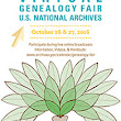 National Archives Virtual Genealogy Fair: October 26 and 27, 2016