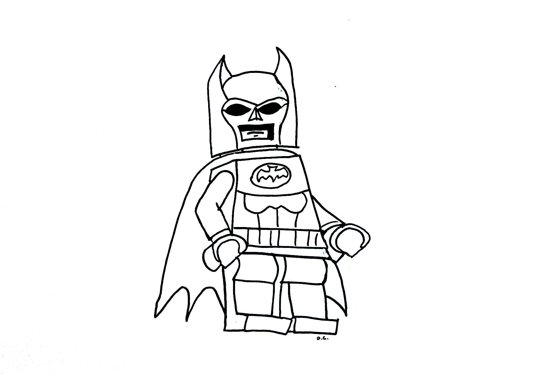 310 Dessins De Coloriage Batman à Imprimer Sur Laguerchecom Page 7