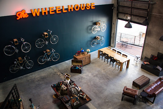 The Wheelhouse: Bringing Together Bicycles and Coffee - Design Milk