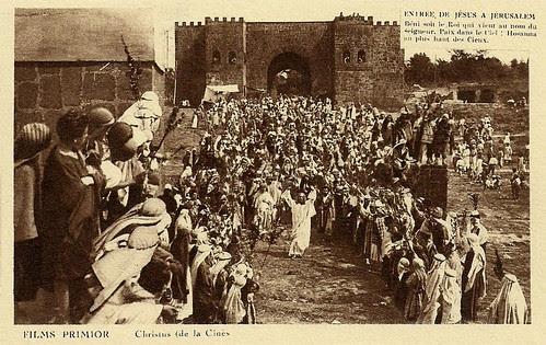 Christus (1916) Entry of Christ into Jerusalem