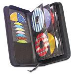 Caselogic 3200042 CD & DVD Wallet Holds 72 Discs - Black