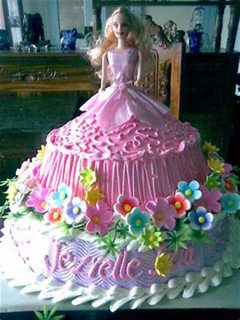 Barbie Wedding Cakes Decoration Ideas   Food and Drink