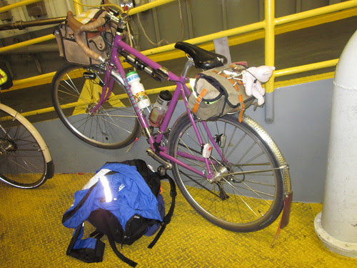 Aftermath - riding the ferry back to Seattle