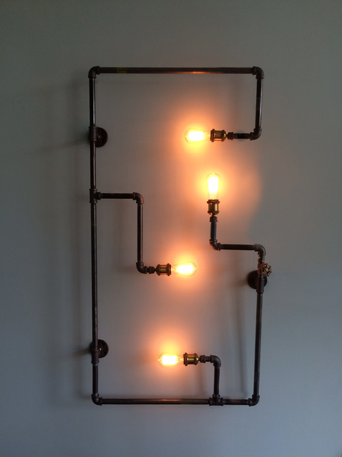 SteamPipe Wall Fixture | mysite