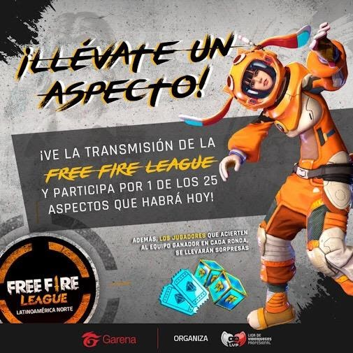 FREEFIRE | CÓDIGO DE RECOMPENSA PRO LEAGUE LATAM.