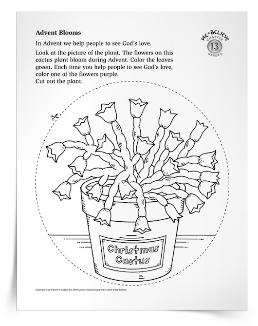 Printable Activity for The Season of Advent