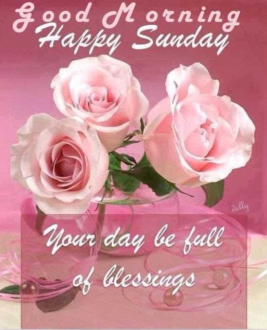 Good Morning Happy Sunday May Your Day Be Filled With Blessings