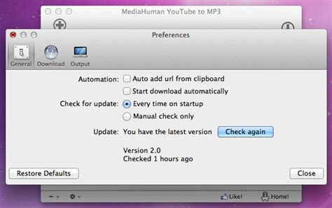 mediahuman youtube  mp converter  mac os
