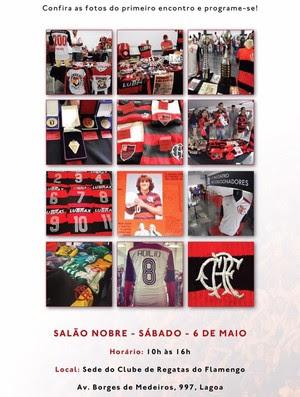 Exposição camisas Flamengo