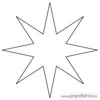 Moldes De Estrellas Para Colorear Molde De Estrellas