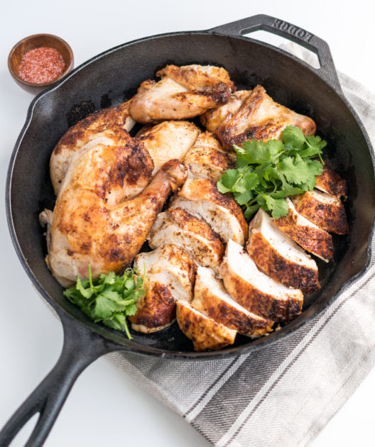 Gochugaru Roast Chicken - recipe by Cooks and Kid