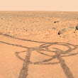 COCK-A-DOODLE-DOO: NASA rovers scrawl giant willy on Mars • The Register