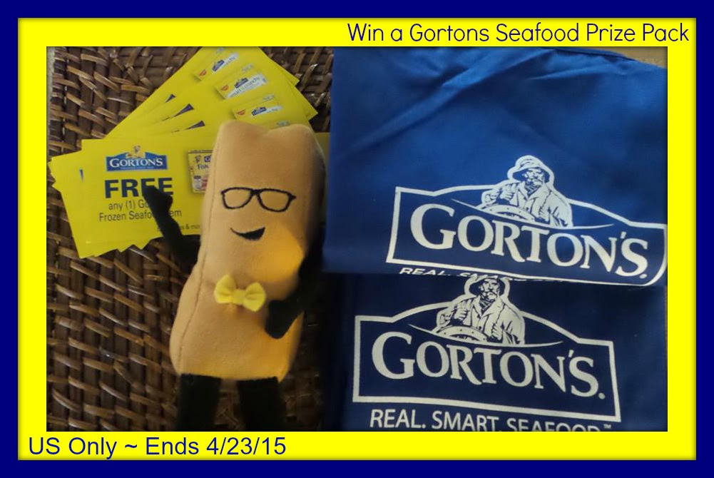 Enter to win the Gorton's Seafood Prize Pack. Giveaway ends 4/23.