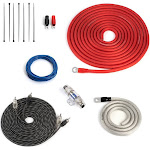 Carwires AIK-PS4000 - 4-AWG Amplifier Wiring Kit