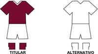 Uniforme Selección Quiindyense de Fútbol