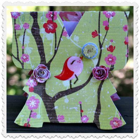 Kimono Card one