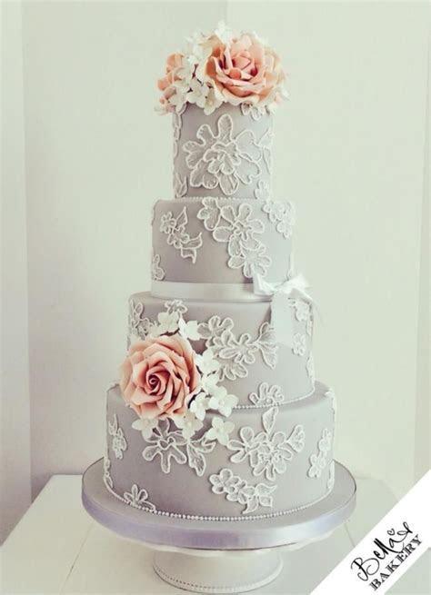 Best 25  Grey wedding cakes ideas on Pinterest