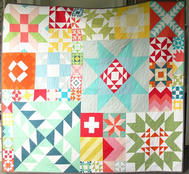 Hazelnuts modern building blocks quilt for Modern house quilt block