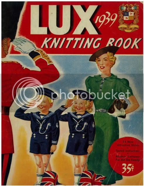 vintage knitting patterns 1939